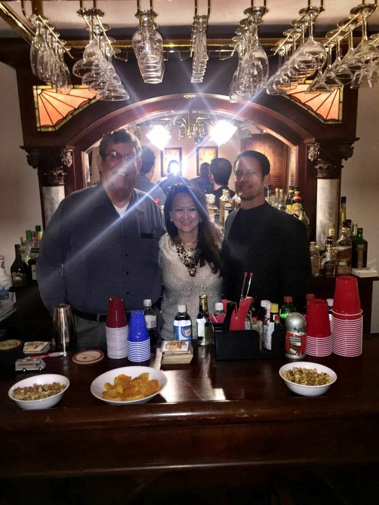 Mimi at Alcohol Lab